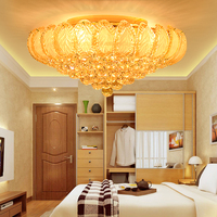 Crystal Ceiling Lights Fixture LED Gold Modern Ceiling Light Home Indoor Lighting Lustres Dining Room Bed Room Hotel Hall Lamps