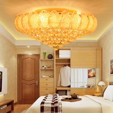 купить Crystal Ceiling Lights Fixture LED Gold Modern Ceiling Light Home Indoor Lighting Lustres Dining Room Bed Room Hotel Hall Lamps по цене 24687.98 рублей