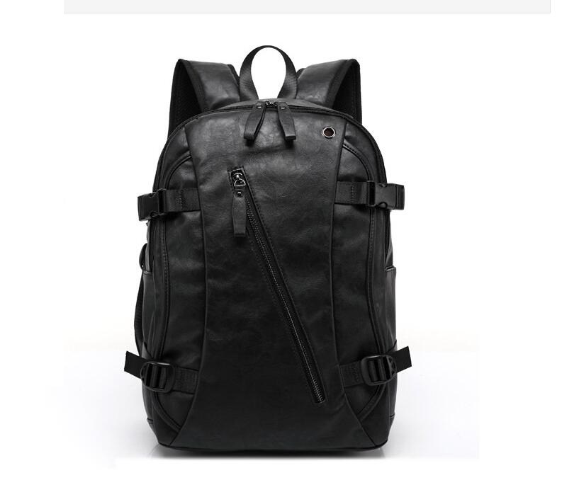 Hot! Women fashion backpack male travel backpack mochilas school mens leather business bag large laptop shopping travel bag pabojoe women mens school backpack italian 100