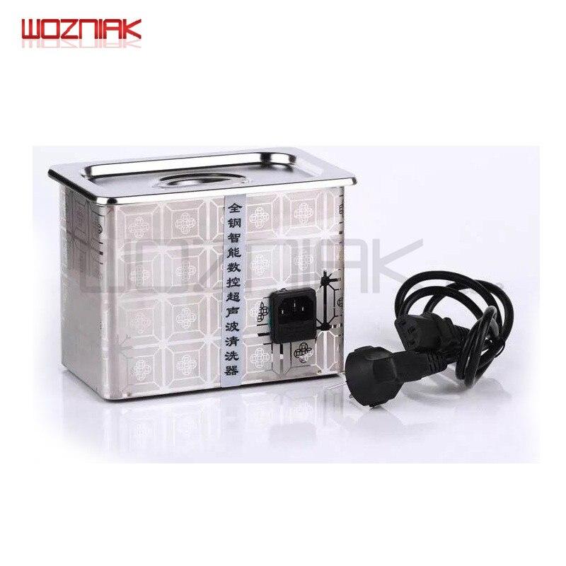 все цены на Wozniak Stainless Steel Ultrasonic Cleaner Bath for Mobile Phone Computer Watch Glasses IC Chip on the Main Board