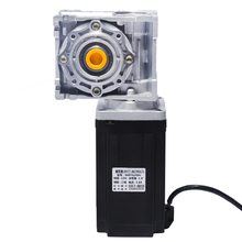 цена на 86 stepper motor / worm gear 040 / reducer stepper motor 80N high torque reduction ratio optional