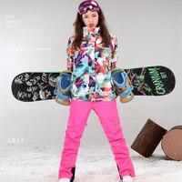 Mùa đông Phụ Nữ Ski Áo Khoác Ngoài Trời Tuyết Sportwear Men Snowboarding Kích Thước Lớn Phù Hợp Với Trượt Tuyết Hiệu Tuyết Mặc Gsou Tuyết Sản Phẩm Được Chứng Nhận