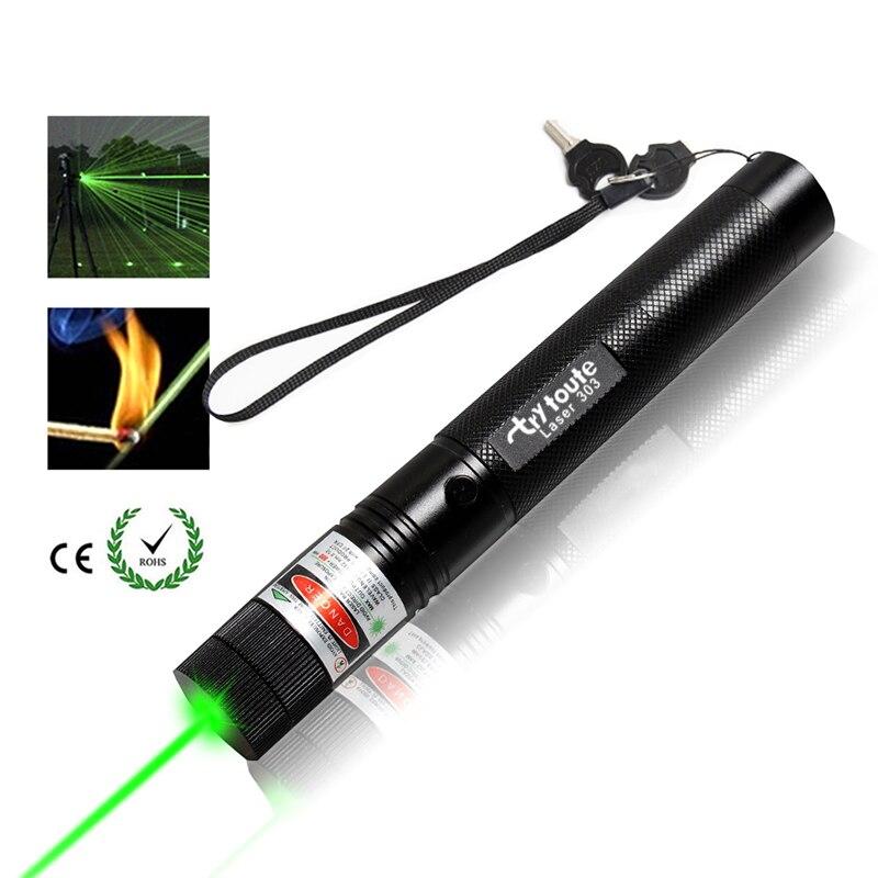 10000 metara! Snažni 532nm zeleni 303 laserski taktički nišan - Lov