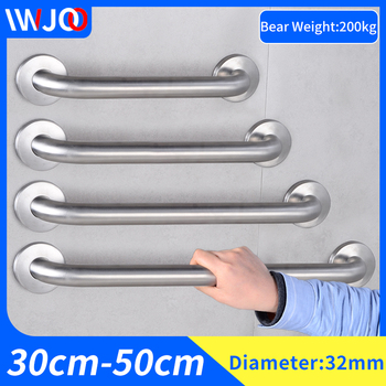 Stainless Steel Handrail Toilet Bathroom Grab Bars for Elderly Disabled Bathtub Shower Safety Handle Wall Mounted Towel Rack taken on airplane durable folding electric wheelchair for disabled and elderly