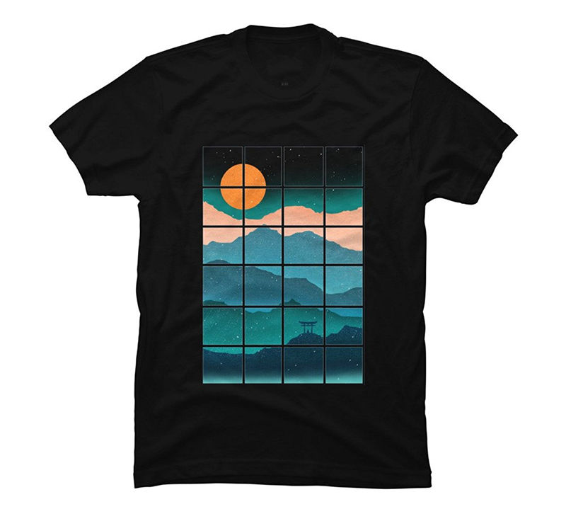 Logo T Shirts 100% Cotton Design By Humans Crew Neck Short-Sleeve Mens Tee