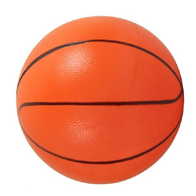 Basketball Squishy : Non toxi Children Mini Basketball Ball Toy PVC Soft Touch Rubber Ball High Bounce Sports Kids ...