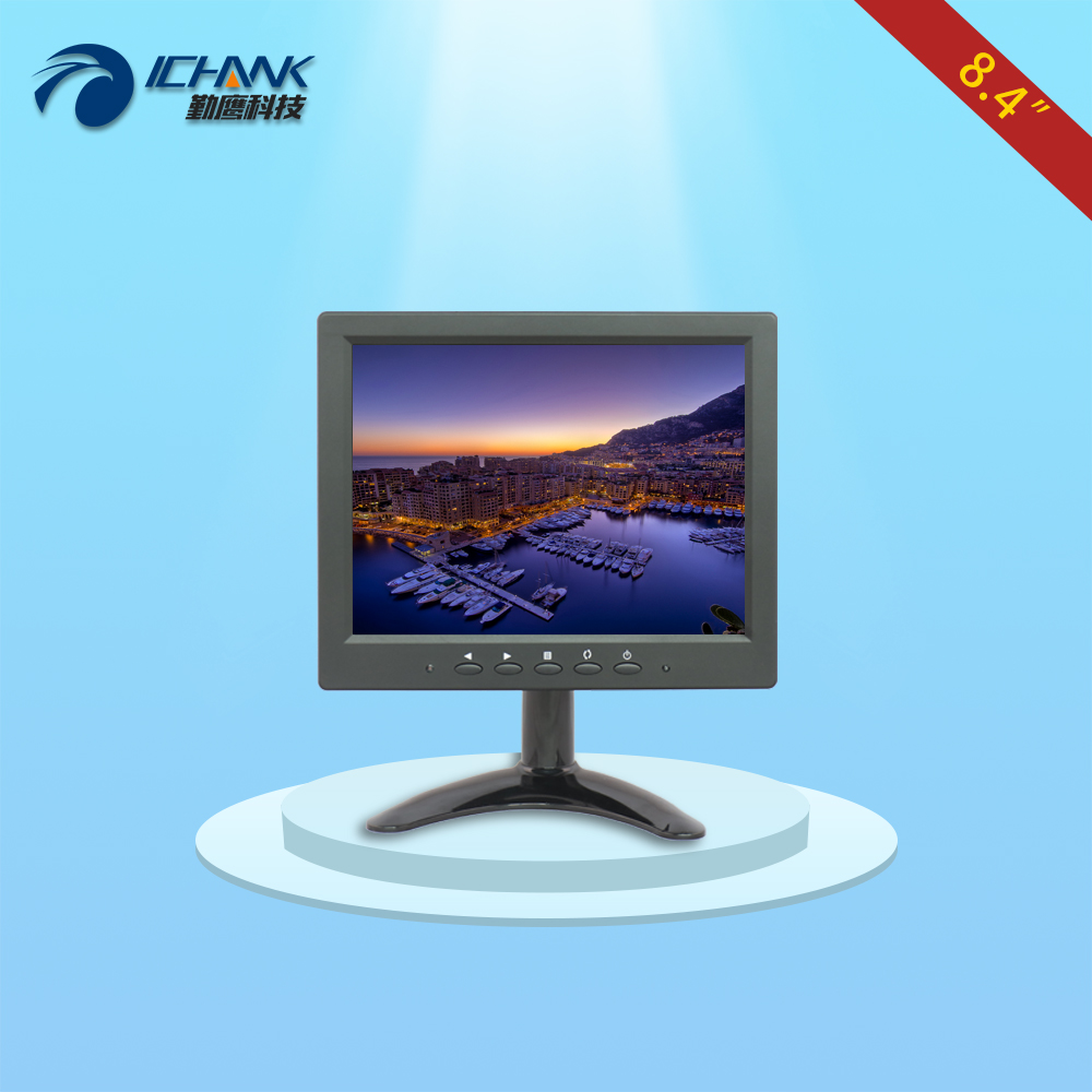 B084JN-BV/8.4 inch BNC VGA monitor/8.4 inch HD display/Board Security monitoring Medical endoscope Equipment supporting monitor; bnc м клемма каркам