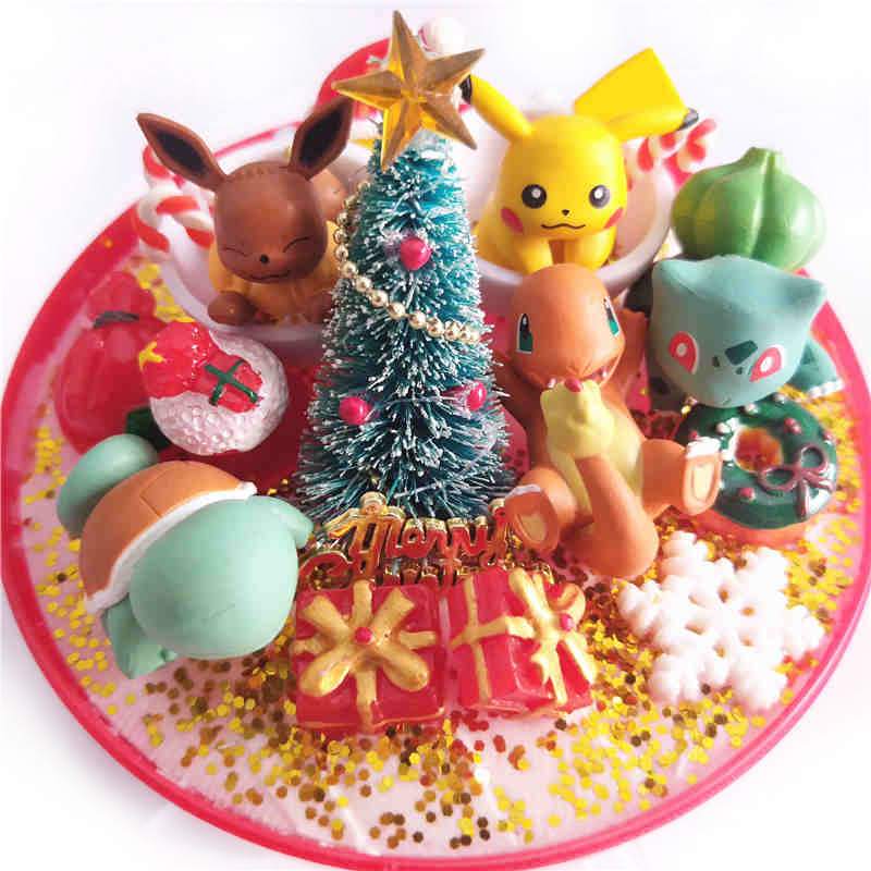 Anime XY Japanese pokeball Monster Eevee Squirtle pikachu Bulbasaur charizard Action Figures Christmas Gift Collection Toys