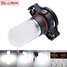 1Pcs H16 5202 PSX24W Led Bulbs For Cars Driving Fog Lights 3030 Chip Super Bright 6000K White Lighting 10V-30V Lamp