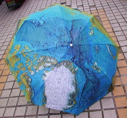 Free shipping+wholesale+40pcs,creative World Map Style umbrella,Anti-UV Water repellent Auto open and close Umbrella