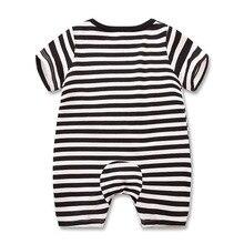 Baby Girl Romper Short Sleeved Cartoon Printed Clothing