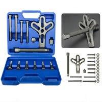 13pcs Harmonic Balancer Steering Wheel Puller Removal Automotive Tools Heavy Duty Crankshaft Gear Pullery Repair Kit