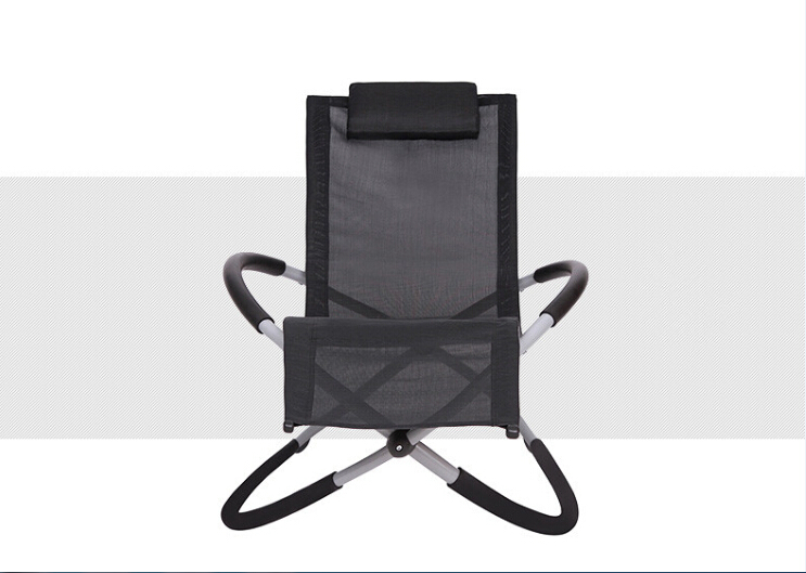 Butterfly chair Fashion outdoor terrace lounge chairs Folding siesta lounge chair Beanbag Creative beach rocking chair