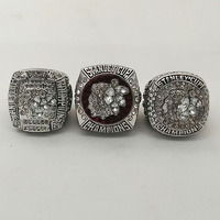 Wholesale Alloy Rings For 3 Years Sets 2010 2013 2015 Ice Hockey Chicago BlackHawks Championship Rings