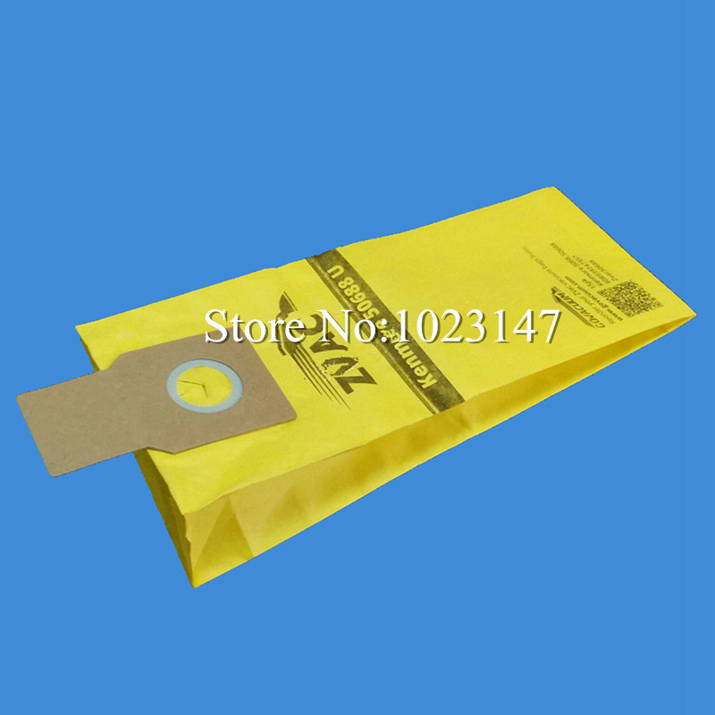 5 pieces/lot Vacuum Cleaner Filter Bags Paper Type U Dust Bag Replacement for Kenmore 50688 Miele Type Z for miele fjm dust bag with 10 dust bag for miele fjm gn type vacuum cleaner hoover dust bags