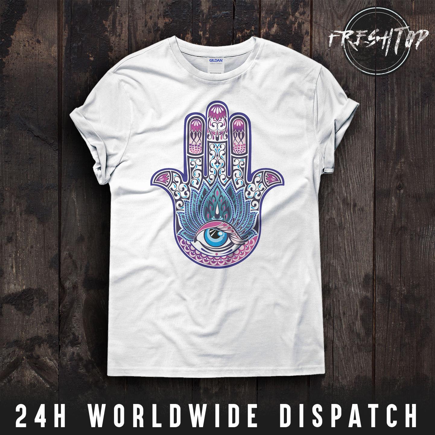 31cbb7da Buy Hamsa T Shirt and get free shipping on AliExpress.com