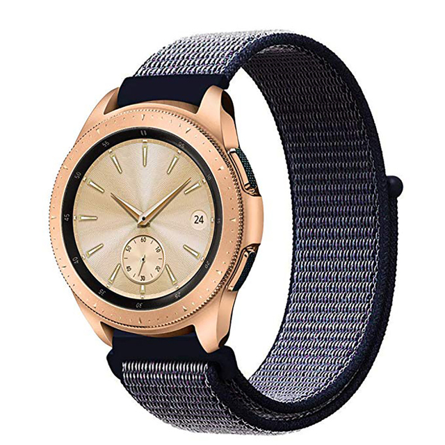 Gear s3 Frontier strap For Samsung galaxy watch 46mm 42mm 22mm watch band gear sport 20 nylon amazfit bip huawei watch gt strap