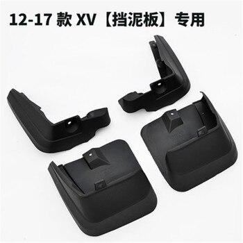 -Car covers Car acessórios Car Para Subaru XV 2012 2013 2014 2015 2016 2017 Mud Flaps plástico Proteção Contra Respingos fender Car styling