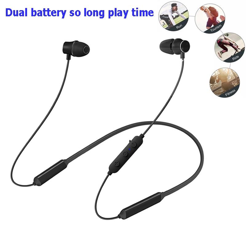 M8 Wireless Bluetooth Earphones Headphones Sport Magnetic Headphone Earpiece Rear Hanging Stereo Bluetooth Headset For Phone 7 8 Aliexpress Com Imall Com