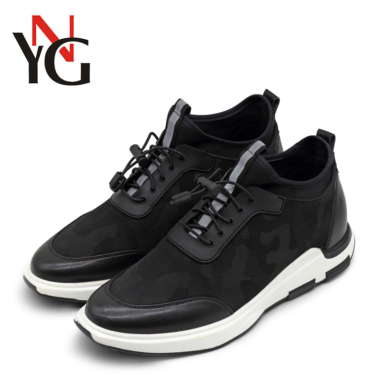 YNG 2018 Spring Autumn Elevator Tall Mens Height Increase Sneaker boots Sport Casual Father Shoe SFQH1101 ...