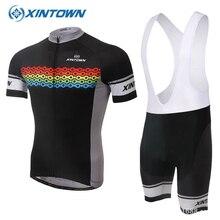 XINTOWN Ciclismo Jersey Roupa ciclismo capacete de ciclismo de estrada-barato ropa de china Bicicleta skinsuit motocross jersey