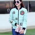 2017 Новых женщин пуховики 5 цвета хлопок тонкий женщин короткий параграф куртки корейской версии all-матч мода зимние пальто