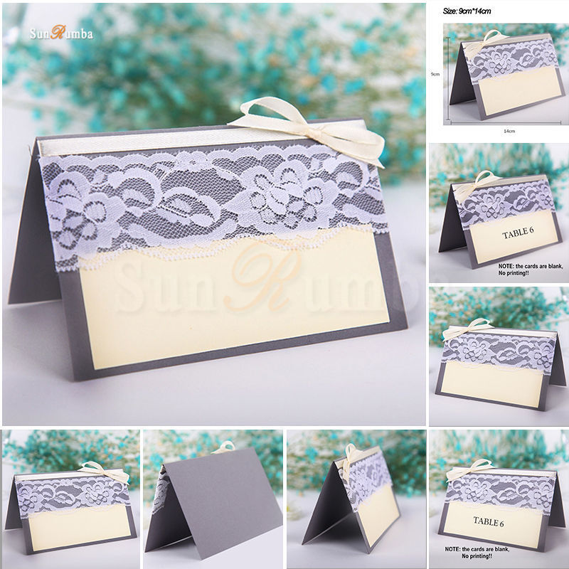 Wedding Decor Blank Table Number Cards or Invitations Direction Signs Supplies Table Numbers Card Holder Event Party Decorations