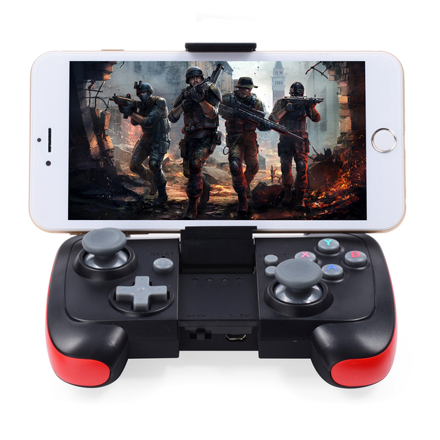 release date e5ab2 93b99 US $18.99 |Wireless Bluetooth 3.0 Game Controller Gamepad Joystick Touch  Pad for Iphone 6 6 Plus 5s 4S Samsung Galaxy S6 S5 Note 4 3-in Gamepads  from ...