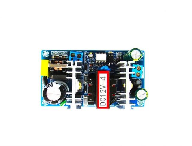 Convertidor de CA a CC, 110v, 220v a CC, 12v, 4A, 50W, placa de alimentación conmutada máxima 6A, módulo de fuente de alimentación del controlador LED