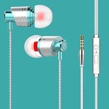 M8 In-Ear Earphone Hifi with Handfree Fashion For Xiaomi 8 9 Earbuds Gaming Spor