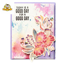 Clear Stamps Leafs Leaves for Scrapbooking Transparent Stamp/Seal DIY Scrapbooking/photo Album Sheets Decorative Stamp
