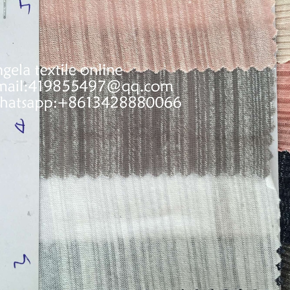 Us 21 9 Wholesale Slub Knit Fabrics Cotton Jersey Stretch Fabrics For Sweing Dress T Shirt In Fabric From Home Garden On Aliexpress
