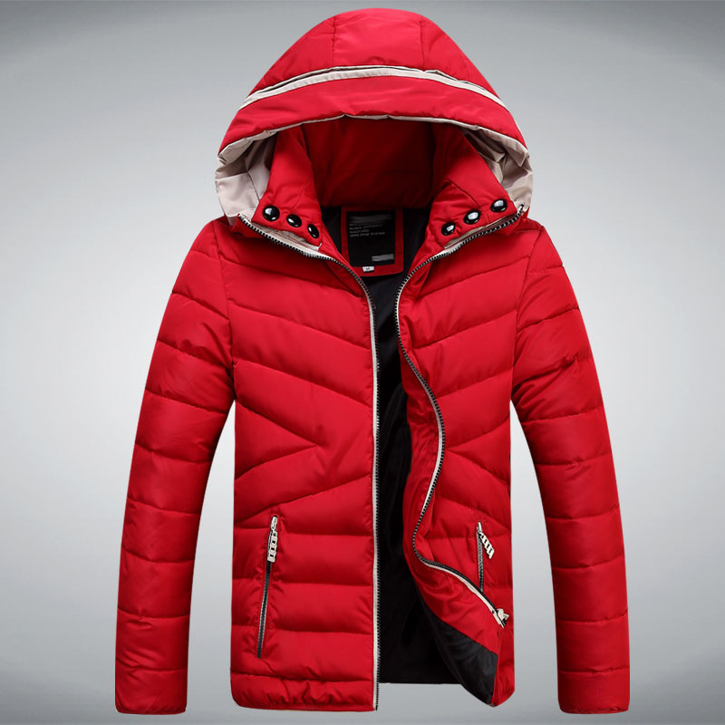 New Winter Jackets Men Hooded Jacket Brand Best Quality Blue Black ...