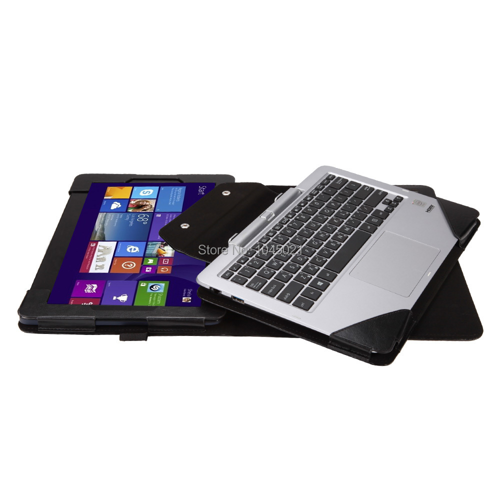 все цены на  2016 New 2in1 quality Keyboard Case tablet Cover For Asus Transformer Book T200TA 11.6 inch pu leather with free shipping  онлайн