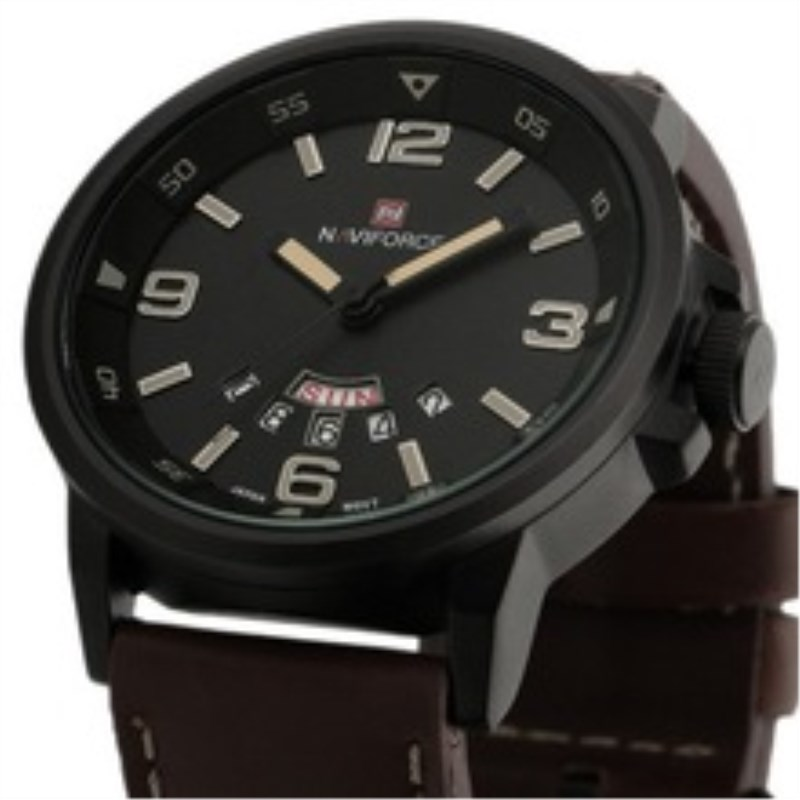 NAVIFORCE Watch Man Sport Mens Watches Top Brand Luxury Military Army Fashion Casual Watch Leathe Quartz Wrist Watch Male Clock цена