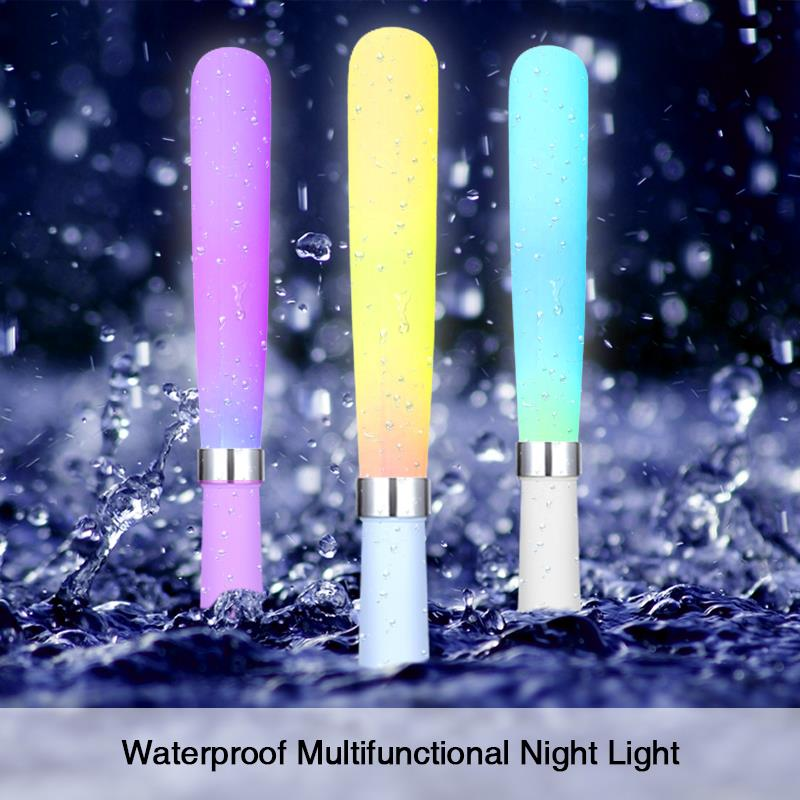 Colorful Silicone Light Stick Multifunctional Led Emergency Light USB Charging Waterproof Exotic lamp A beauty Gift BB SPEAKER