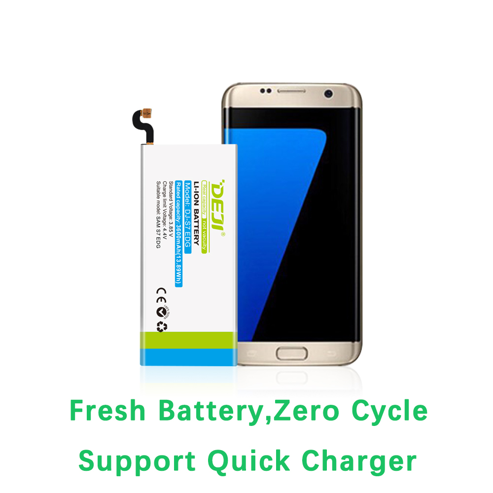 DEJI For <font><b>SAMSUNG</b></font> S7 Edge S6 <font><b>S5</b></font> J7 Battery Real Capacity 3600mAh Internal <font><b>Bateria</b></font> Replacement With Free Tool Kit G9350 Sticker image