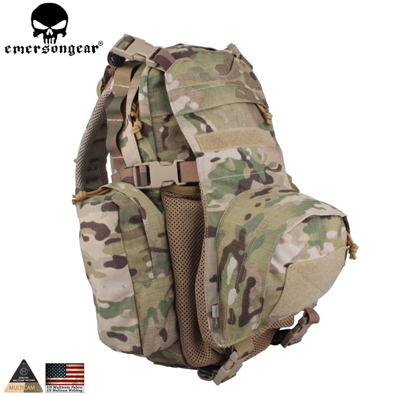 EMERSONGEAR Yote Rucksack Hydration Multicam Taktikal Backpack Daypack untuk Hiking Bag Travel Pack EM5813