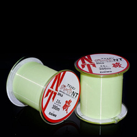 Nylon Super Wear Fishing Lure Line 300m Fluorescent Green Rock Fishing Line 1 0 8 0