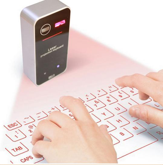 New Mini Portable Wireless Bluetooth Laser projection keyboard Virtual Keyboard Computer Laptop Table PC Mobile Phone
