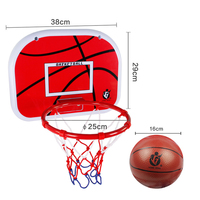 38cm Upgrade Type Children Indoor Outdoor Sport Shooting Toys Hang Basketball Board