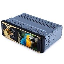 Автомобиль Радио плеер Bluetooth V2.0 заднего вида Камера Аудиомагнитолы автомобильные Стерео 12 В Высокое разрешение FM Аудио Функция с Дистанционное управление