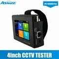 H.265/H.264  4K видео дисплей 4-дюймовый IPS сенсорный экран CCTV камера тестер с разрешением 800*480 PoE DC48V выходная мощность