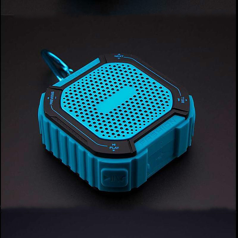 GHXAMP Portable Bluetooth Speaker Wireless FM Radio 3D Stereo Super Bass HIFI Outdoor Waterproof Loudspeaker TF Card Support 1PC portable wireless bluetooth column speaker stereo subwoofer support usb sound box tf fm radio with mic dual bass loudspeaker