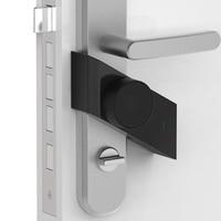 Durable Anti Theft Security Smart Stick Lock For Both Wood Metal Door Chargeable APP Control Door Lock Furniture Accessories