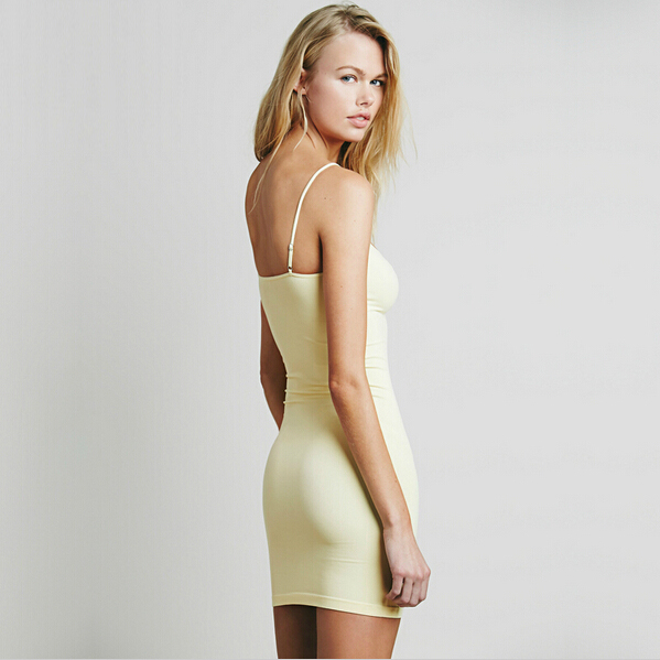 Queechalle 9 Farben Solide Ärmellose Kleider für Frauen 2019 - Damenbekleidung - Foto 5