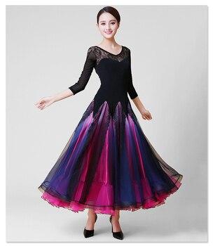 075c1e6654b Find the best deals Ballroom Competition Dance Dress 2019 New Design Tango  Flamenco Waltz Dancing Skirt