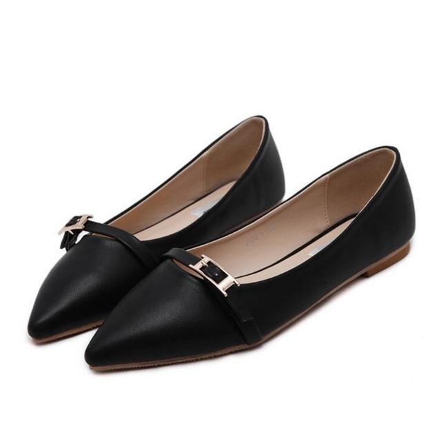 2017 Обувь Женщина pu Кожаные Квартиры Женская Обувь Обувь Высокого Качества Для Женщин Топ Повседневная Работа Мокасины женская обувь z289