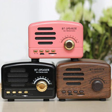Mini Pocket Portable AM FM Shortwave Bluetooth Radio USB Retro Receiver Home Speaker Stereo Support Card