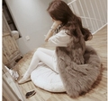 Sexy Fur Vest Women  Fur Vest Coats For Women Winter Autumn Brand Sale Fur Vest Coat Fashion Outwear High Quality